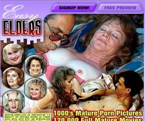 Easy Elders - Mature Women Sex -  The Horniest Sexy Old Women Online!