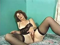 Mom getting orgasm solo