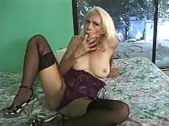 Mature gets tasty cumload