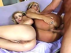 Mom blows n gets huge dildo in ass